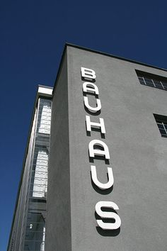 The Bauhaus was founded in Weimar in 1919 by the German architect Walter Gropius. In 1925 the school moved to Dessau, between Berlin and Leipzig, where the famous Bauhaus building, designed by Gropius, was built in just one year (http://www.guardian.co.uk/culture/gallery/2012/apr/13/bauhaus-art-architecture-barbican-gallery
