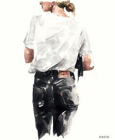 Kasiq Fashion Illustration on Behance Girl Memes Sketches ? art fashion Kasiq Fashion Illustration on Behance Illustration Design Graphique, Illustration Art Drawing, Fashion Illustration Sketches, Art Sketches, Drawing Art, Dress Sketches, Behance Illustration, Drawing Ideas, Design Illustrations