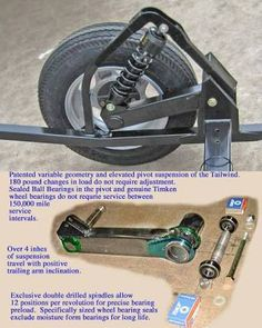 tailwind trailer suspension - Buscar con Google