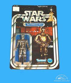 Kenner 12 Back Star Wars Carded Figure