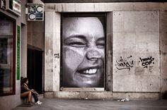JR's Street Art #streetart jd