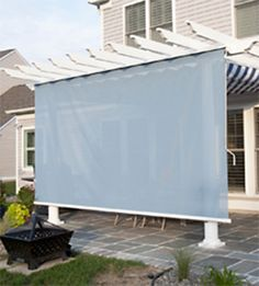 1000 images about backyard spaces on pinterest privacy screens shade sails and bamboo. Black Bedroom Furniture Sets. Home Design Ideas