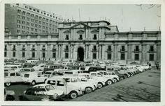 Ministerio de Relaciones Exteriores de Chile digitaliza 3.700 fotos históricas - FayerWayer Santa Lucia, Iglesia San Francisco, San Diego, 2cv6, Classic Cars, Past, Louvre, Street View, Exterior