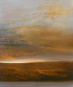 "Maurice Sapiro, ""Daybreak"" (oil on panel, 24"" x 20"") At The Cooley Gallery"