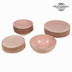 60,93€ Stoviglie 19 pezzi di porcellana rosa - Kitchen's Deco Collezione by Bravissima Kitchen in vendita in offerta su https://takkat.eu/it/piatti-vassoi-fonti/7500-stoviglie-19-pezzi-di-porcellana-rosa-kitchen-s-deco-collezione-by-bravissima-kitchen-7569000723072.html - Rinnova la tua casa con Kitchen's Deco Collezione! Troverai tantissimi prodotti con i quali potrai dare all'arredamento o alle decorazioni della tua casa quel tocco di identità che stavi cercando.Se vuoi dare un tocco…