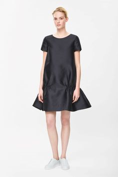COS — Gathered detail dress