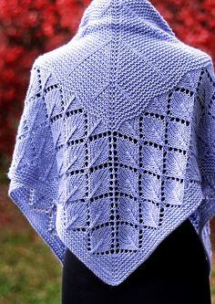 Quaking Aspen pattern by Dee O'Keefe : Ravelry: Quaking Aspen pattern by Dee O'Keefe Vintage Knitting, Lace Knitting, Knitting Stitches, Knitting Patterns, Crochet Patterns, Knitting Ideas, Crochet Saco, Manta Crochet, Knit Or Crochet