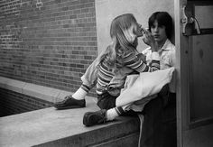 Before Joseph Szabo was a world renown photographer, he was a teacher at Malverne High School in Long Island where he taught photography