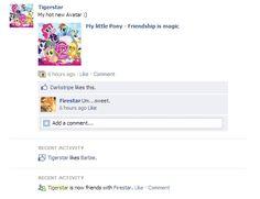 Tigerstars Facebook by Distelblatt.deviantart.com on @DeviantArt