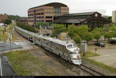 RailPictures.Net Photo: CBQ 9911A Chicago Burlington Quincy Railroad EMD E5(A) at Moline, Illinois by Kevin The Krazy 1
