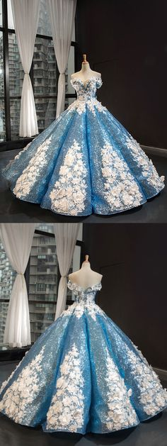 Ball Gown Off The Shoulder Prom Dress Vintage Sparkling Quinceanera Dress # Simple Prom Dress, Prom Dresses Long With Sleeves, Unique Prom Dresses, Plus Size Prom Dresses, A Line Prom Dresses, Quinceanera Dresses, Custom Made Prom Dress, Prom Dress Stores, Pinterest Fashion
