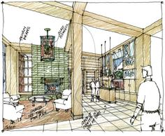 1000 images about interior design renderings on pinterest sketches