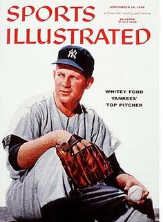 Sports Illustrated Whitey Ford Cover (09-10-56)
