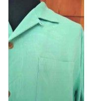 Tommy Bahama Camp Shirt Mens BEDARRA GARDENS--LARGE 100% silk T37373 skytint  retail $118  YOU PAY $75