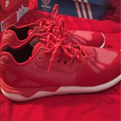 huge selection of 4412c 77045 Adidas Shoes   Adidas Tubular Runner Weave   Color  Red White   Size