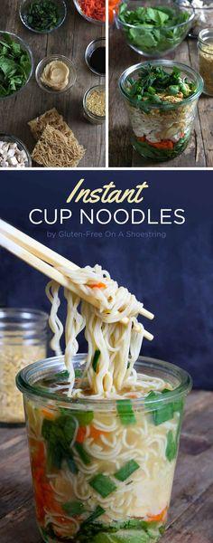 Instant Cup Noodles