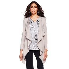 We love tops that do the layering for us!