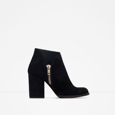 ZARA - WOMAN - LEATHER BOOTS