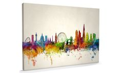 London City Skyline - Large, AM1142, Maps International