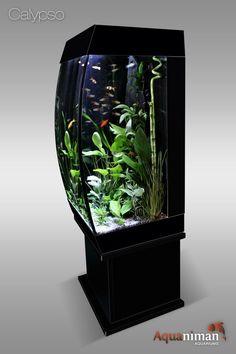 Table basse aquarium carrée - Aquariums Aquaniman   idée déco ...