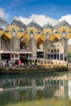 stayokay-rotterdam, cube houses