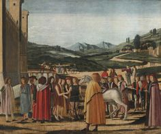 Michele da Verona VERONA 1470 - CIRCA 1544 DISPUTE BETWEEN POSEIDON AND ATHENA FOR SUPREMACY OVER ATTICA Italian Paintings, Renaissance Men, Italian Art, Verona, Old Master, Impressionist, Mythology, Modern Art, Auction
