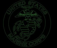 Eagle globe and anchor Marines DXF file for CNC laser, plasma, router, waterjet by ArcInnovations on Etsy