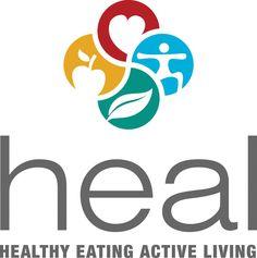 Heal Healthy Eating Active Living Logo