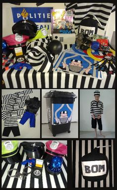 boevenfeest Detective, Police Party, Kindergarten, Cops And Robbers, Beste Mama, Holiday Club, Happy Kids, Birthday, Projects