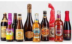 Várias cervejas, incluindo algumas das minhas favoritas, como a Tripel Karmeliet
