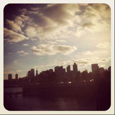 Clouds in Boston
