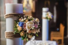 What's with the unity candle in a Catholic wedding? Catholic Wedding, Irish Wedding, Flower Decorations, Table Decorations, Wedding Unity Candles, Wedding Themes, Wedding Flowers, Wedding Planning, Weddings