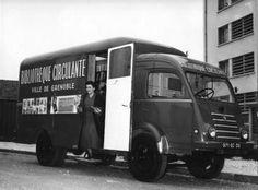 Le bibliobus urbain de Grenoble / Pierre Vaillant | Bulletin des Bibliothèques de France, 1956, n° 3, p. 167-177 [http://bbf.enssib.fr/] | #neverforget
