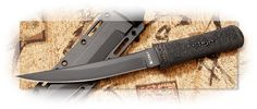 CRKT Hissatsu™ Black Blade w/Black Sheath
