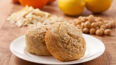 Lemon Chickpea Muffins