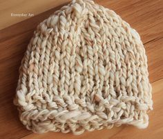 Everyday Art: Knit Infant Hat