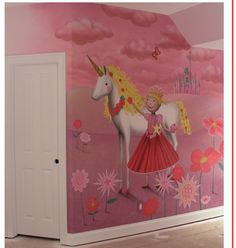 #mural ideas for girls room