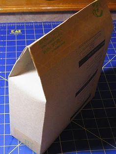 Using those cereal boxes up.  Alternative ebay packaging.
