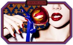 Carousel Gloss in Candy Apple Red...I love my MAC Lip Glass but I think I may need this. So Christmasy :)
