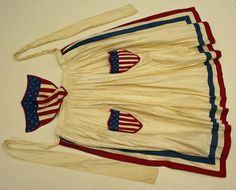 Patriotic Apron- I have seen some very AWESOME repros on this one, by a very dear friend!