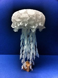 Origami Jellyfish - Gift Of Arts by Beth's Origami, via Flickr
