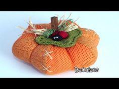 Como fazer Abóbora Moranga Dia das Mães - DIY calabaza manualidades Pumpkin - YouTube