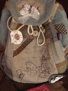 """Рюкзак """"Торт для Муми-тролля"""" - рюкзак,городской рюкзак,Муми-тролль,рюкзак с мумиками"""