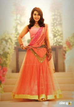 Girl Wallpaper- Rashi Khanna Latest Hot Navel Show Stills In Orange Dress - Bollywood Stars South Indian Actress Hot, Beautiful Indian Actress, Sonam Kapoor, Deepika Padukone, Rose Colored Dress, Saree Models, Bollywood Stars, Bollywood Lehenga, Bollywood Wedding