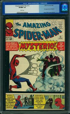 Amazing Spider-Man #13    1st Appearance Mysterio