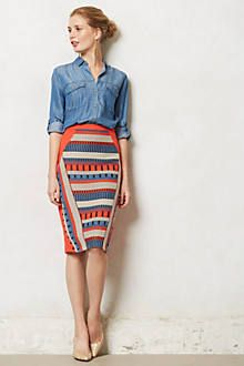 Anthropologie Merida pencil skirt ($99)