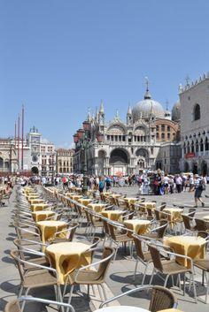 Gran Caffe Chioggia, Piazza San Marco, Venice, Italy