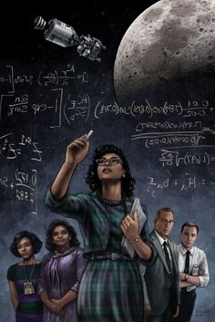 Hidden Figures - Girls and Math - something I could never do, but love it that many others can!
