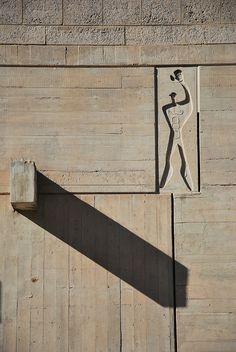 Le Modulor at Unité d'Habitation, Marseille | Le Corbusier