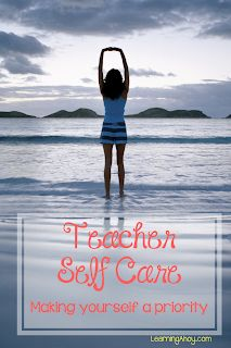 Practicing self care is an important part of being an effective teacher. Make Yourself A Priority, Autism Resources, Special Education Classroom, Priorities, Self Improvement, Early Childhood, Self Care, Kindergarten, Preschool